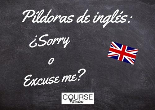 pedir disculpa en inglés