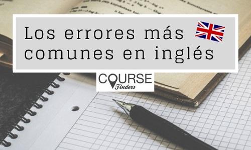 errores en inglés