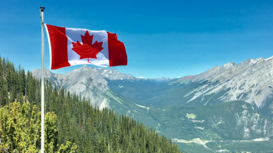 Study English in Canada and you can visit the Rocky Mountains