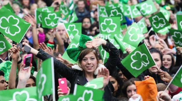 Célébration de la Saint Patrick