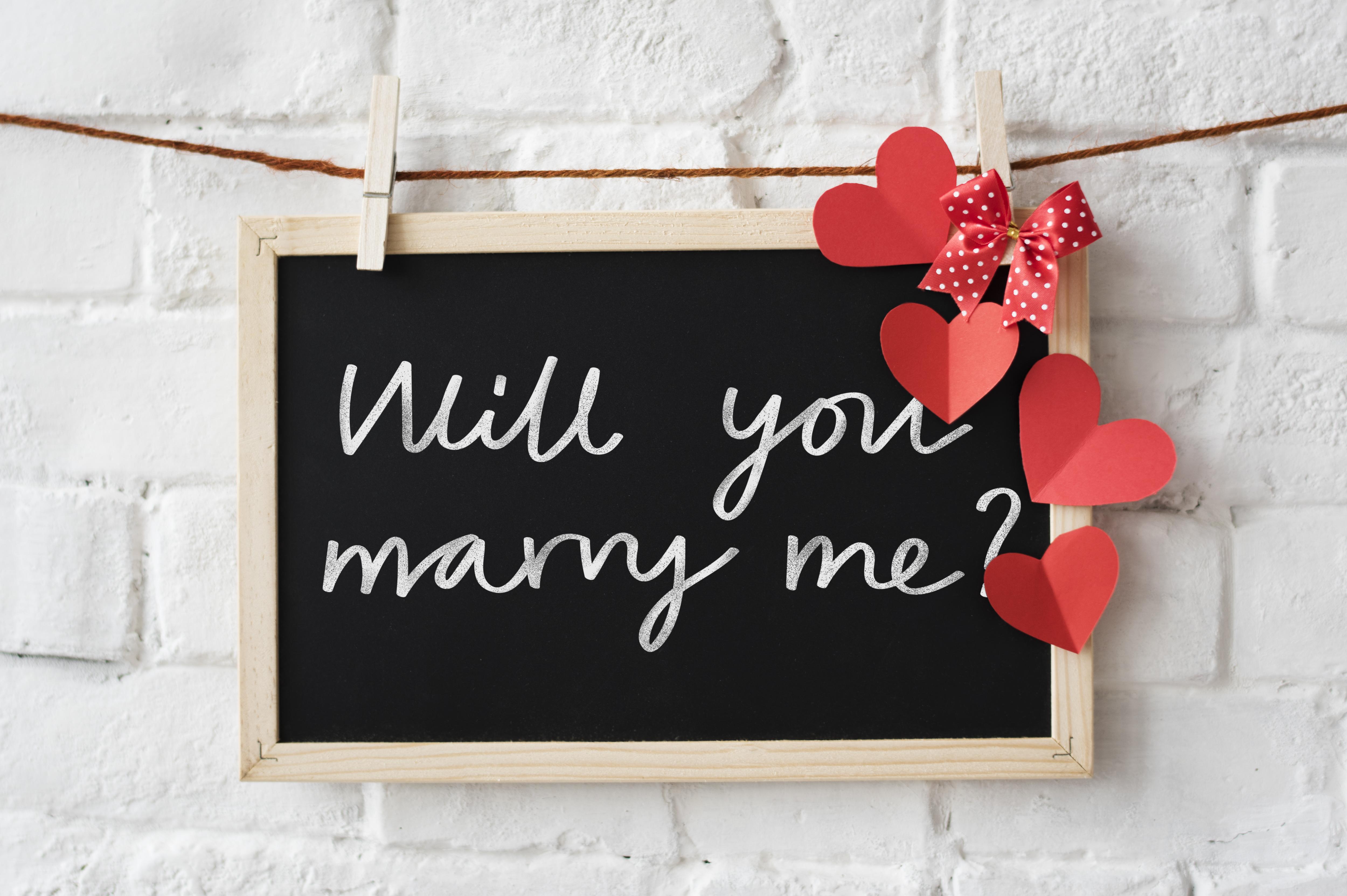 """""""Mi vuoi sposare?"""" in tutte le lingue del mondo"""