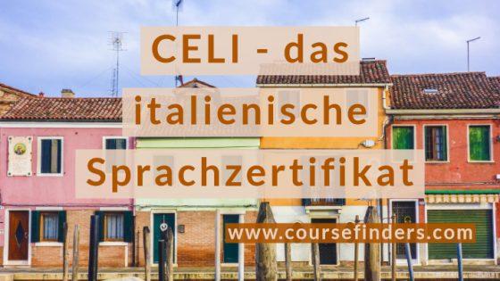 CELI das italienische Sprachzertifikat