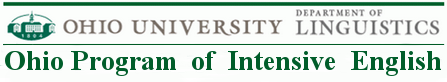 Ohio University - Ohio Program of Intensive English