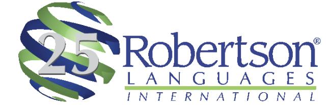 Robertson Languages International