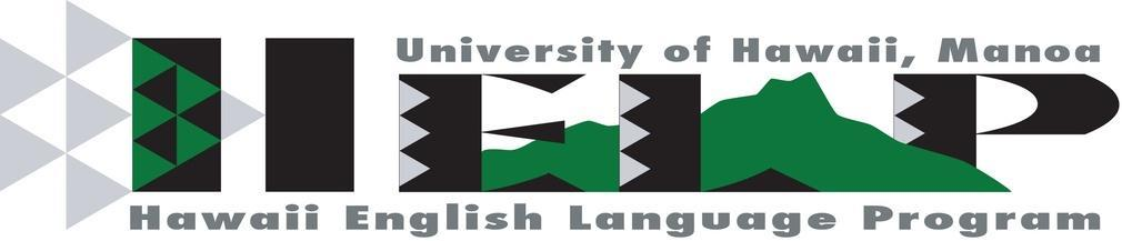 University of Hawaii - Manoa - Hawaii English Language Program (HELP)